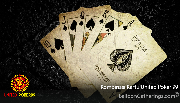 Kombinasi Kartu United Poker 99